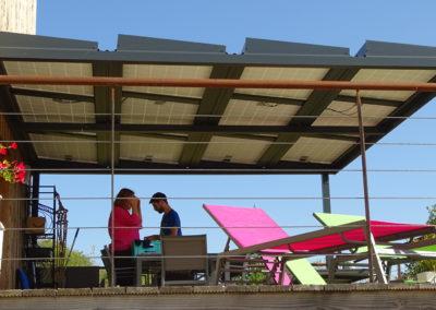 terrasse photovoltaique